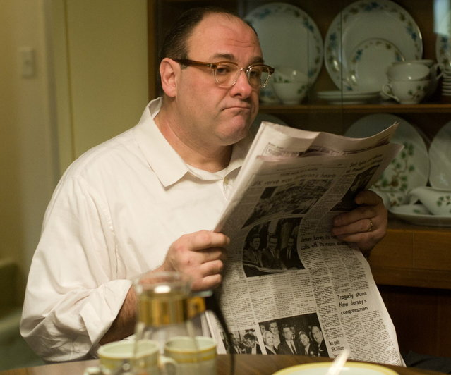 "James Gandolfini as Pat in ""Not Fade Away"", from Paramount Vantage and Indian Paintbrush in Association with The Weinstein Company. (Photo by MCT)"