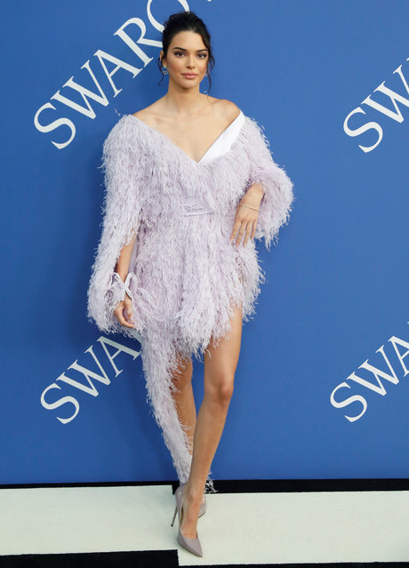 Kendall Jenner attends the CFDA Fashion awards in Brooklyn, New York, U.S., June 4, 2018. (Photo by Shannon Stapleton/Reuters)