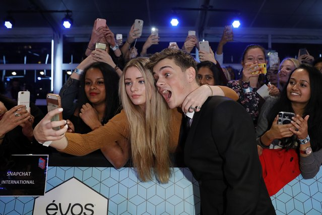 DJ Martin Garrix attends the MTV Europe Music Awards 2016 on November 6, 2016 in Rotterdam, Netherlands. (Photo by Andreas Rentz/Getty Images for MTV)