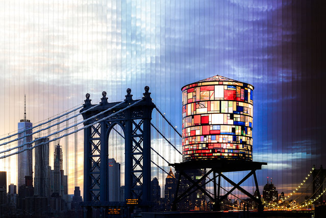 New York: 70 photographs, 2 hours, 10 minutes. (Photo by Daniel Marker-Moors/Caters News)