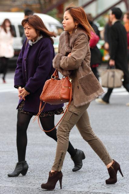 """Brrr!"" Shibuya, 2012. (Asian (Street) Impressions)"
