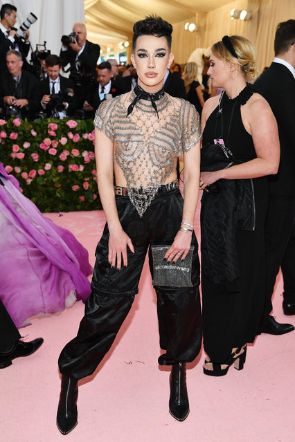 James Charles attends The 2019 Met Gala Celebrating Camp: Notes on Fashion at Metropolitan Museum of Art on May 06, 2019 in New York City. (Photo by Dimitrios Kambouris/Getty Images for The Met Museum/Vogue)