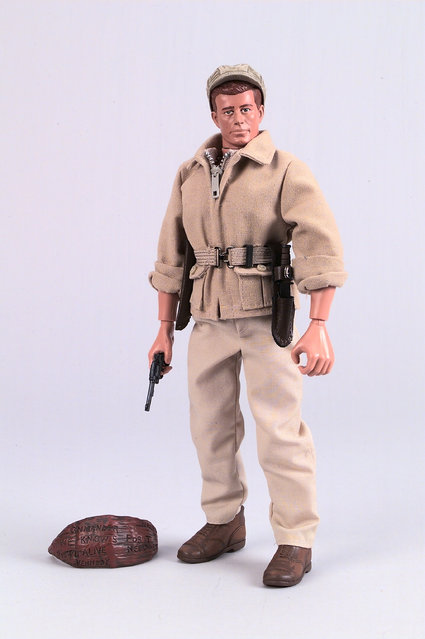 A G.I. Joe Action Figure Of The Late U.S. President John F. Kennedy Was Unveiled August 30, 2000 At The Kennedy Library In Boston, Ma. (Courtesy Of Hasbro/Newsmakers) (Photo By Getty Images)
