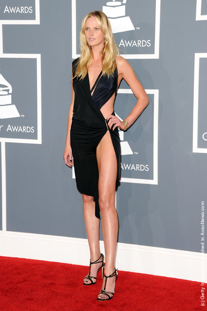 Anne V arrives at the 54th Annual GRAMMY Awards held at Staples Center