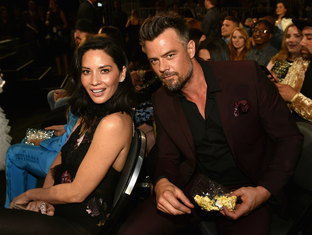 Actors Olivia Munn (L) and Josh Duhamel attend the 2017 Billboard Music Awards at T-Mobile Arena on May 21, 2017 in Las Vegas, Nevada. (Photo by John Shearer/BBMA2017/Getty Images for dcp)