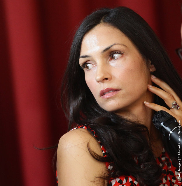 Actress and Director Famke Janssen attends the 2012 Busto Arsizio Film Festival press conference