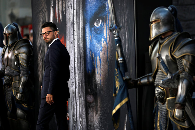 """Cast member Dominic Cooper poses at the premiere of the movie """"Warcraft"""" in Hollywood, California U.S., June 6, 2016. (Photo by Mario Anzuoni/Reuters)"""