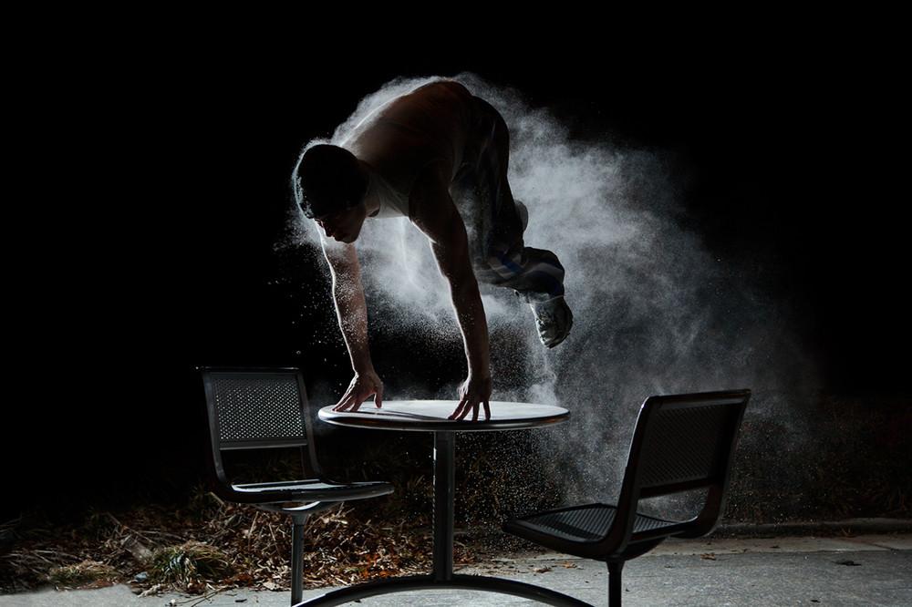 Parkour in Motion by Ben Franke