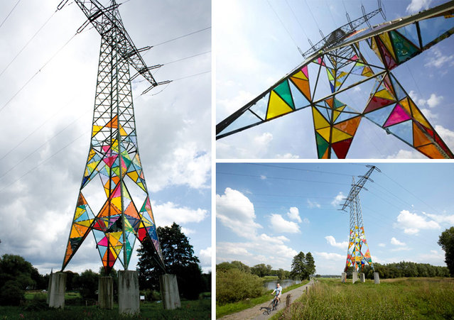 Art Students Transform Ugly Electrical Towers