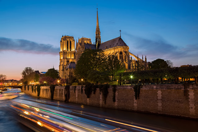 """Notre Dame Cathedral in Paris"". Notre Dame Cathedral is among the largest and most well-known churches in the world. It's a highlight for each tourist & local and should be visited both during the day and at night. (Photo and caption by Nisa Maier/National Geographic Traveler Photo Contest)"