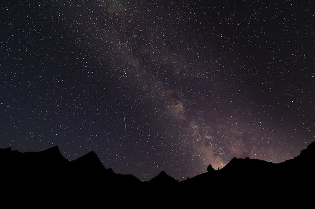 Photographer Isaac Baquero Pérez took this single shot near Aragon, Spain, on August 9, 2012. (Photo by Isaac Baquero Pérez)