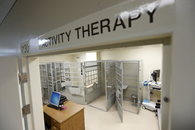 An empty activity therapy room is seen at the Psychiatric Inpatient Program at San Quentin State Prison in San Quentin, California December 29, 2015. (Photo by Stephen Lam/Reuters)
