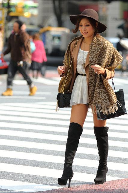 """""""Madame style"""". Shibuya, 2012. (Asian (Street) Impressions)"""