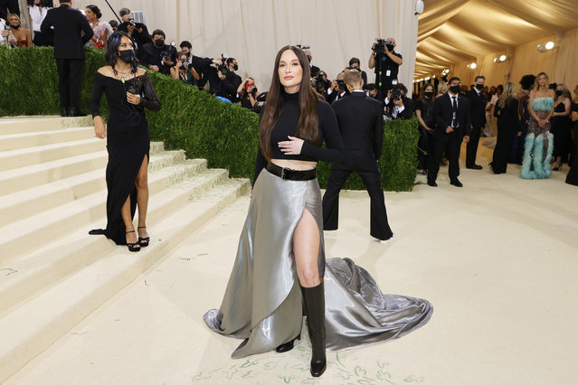 American singer and songwriter Kacey Musgraves attends The 2021 Met Gala Celebrating In America: A Lexicon Of Fashion at Metropolitan Museum of Art on September 13, 2021 in New York City. (Photo by Mike Coppola/Getty Images)