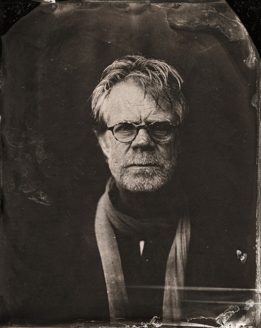 William H. Macy poses for a tintype (wet collodion) portrait at The Collective and Gibson Lounge Powered by CEG, during the 2014 Sundance Film Festival in Park City, Utah. (Photo by Victoria Will/AP Photo/Invision)