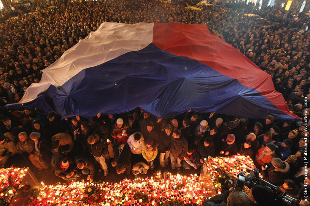 Czech Republic Mourns Death Of Vaclav Havel