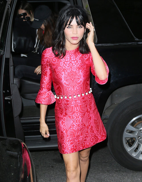 Jenna Dewan Tatum arrives at the 'Today Show' in New York City on May 11, 2017. (Photo by Splash News and Pictures)