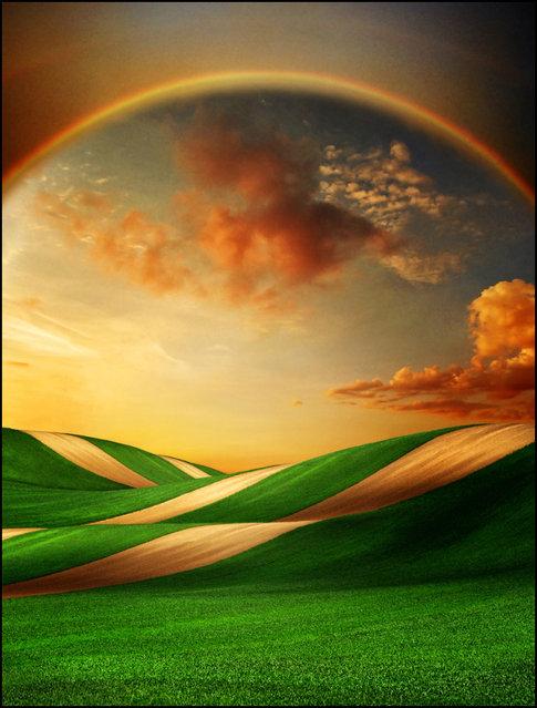 Rainbow gate..:)