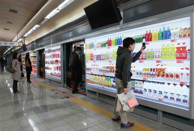 Tesco Virtual Stores In South Korea