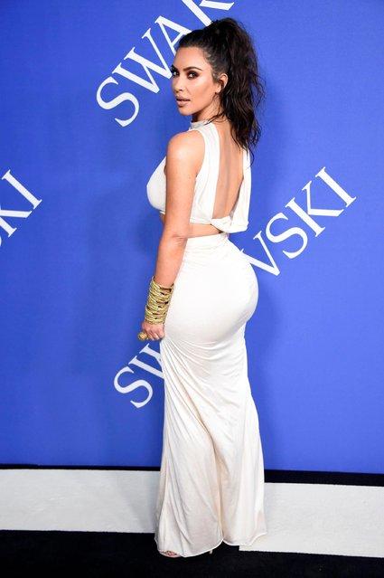 Kim Kardashian attends the CFDA Fashion awards in Brooklyn, New York, U.S., June 4, 2018. (Photo by Shannon Stapleton/Reuters)