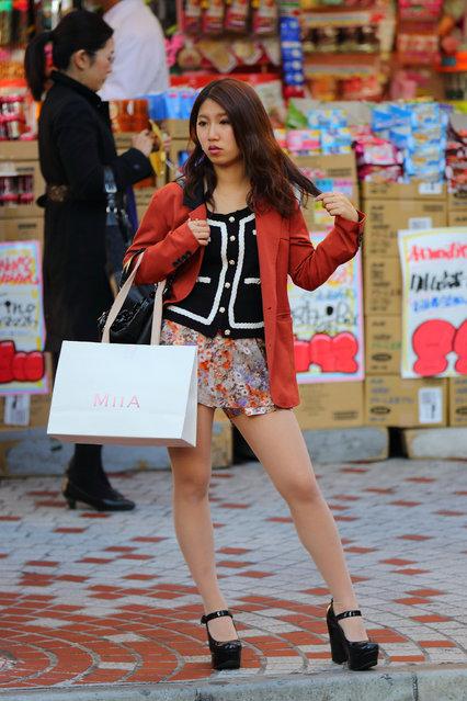 """Proper stance"". Shibuya, 2012. (Asian (Street) Impressions)"