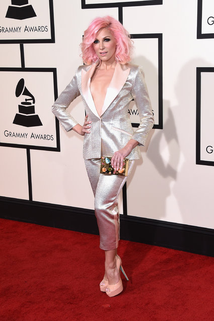 Songwriter Bonnie McKee attends The 58th GRAMMY Awards at Staples Center on February 15, 2016 in Los Angeles, California. (Photo by Jason Merritt/Getty Images for NARAS)