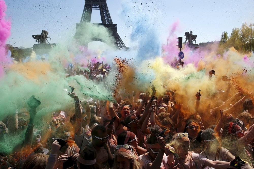 Color Run in Paris