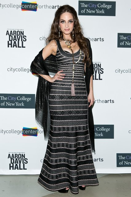 Alexa Ray Joel arrives at City College Center for the Arts 2015 CCCA Awards at Aaron Davis Hall on Monday, May 4, 2015, in New York. (Photo by Matt Peyton/Invision for City College Center For the Arts /AP Images)