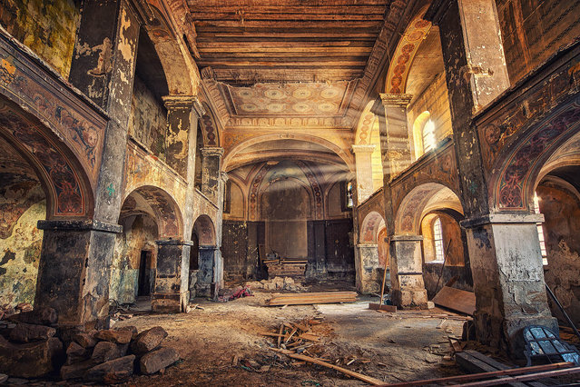 The Church of All Saints. (Photo by Matthias Haker/Caters News)