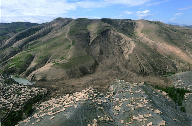 Massive Landslide Buries Remote Afghan Village