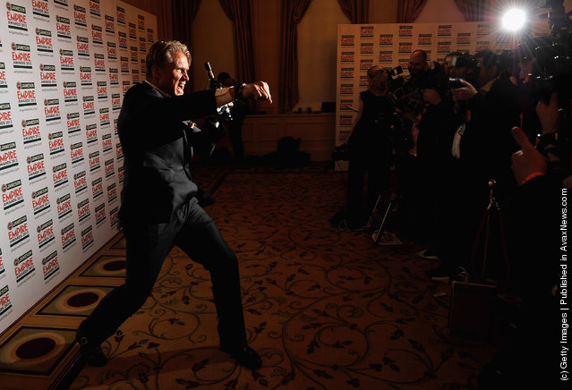 Actor Dolph Lundgren attends the 2012 Jameson Empire Awards at the Grosvenor House Hotel