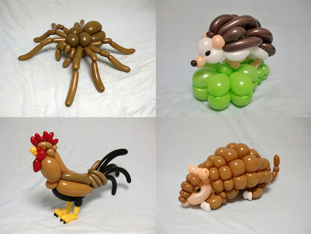 Balloon Sculptures By Masayoshi Matsumoto
