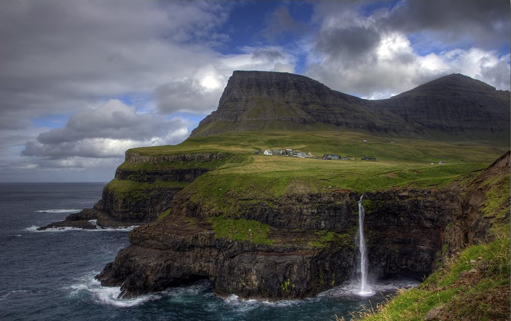 Village Gasadalur Faroe Islands