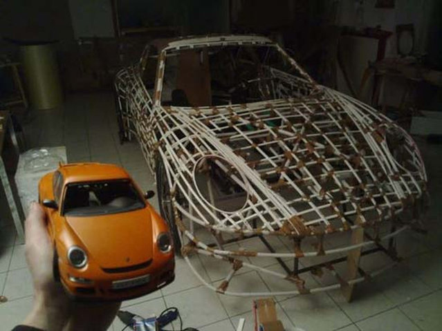 Homemade Porsche 911