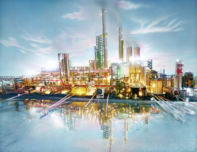 David LaChapelle, Land Scape Riverside, 2013, chromogenic print, 72 x 93 3/8 inches, 182.9 x 237.2 cm, edition of 3. Image courtesy of the artist and Paul Kasmin Gallery. (Photo by David LaChapelle Studio)