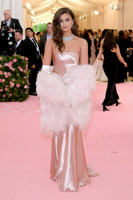 Taylor Hill attends The 2019 Met Gala Celebrating Camp: Notes on Fashion at Metropolitan Museum of Art on May 06, 2019 in New York City. (Photo by Neilson Barnard/Getty Images)