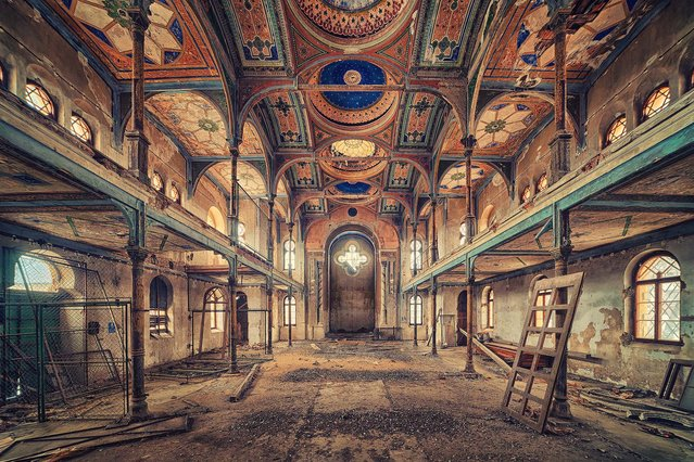 Remember The Past. (Photo by Matthias Haker/Caters News)