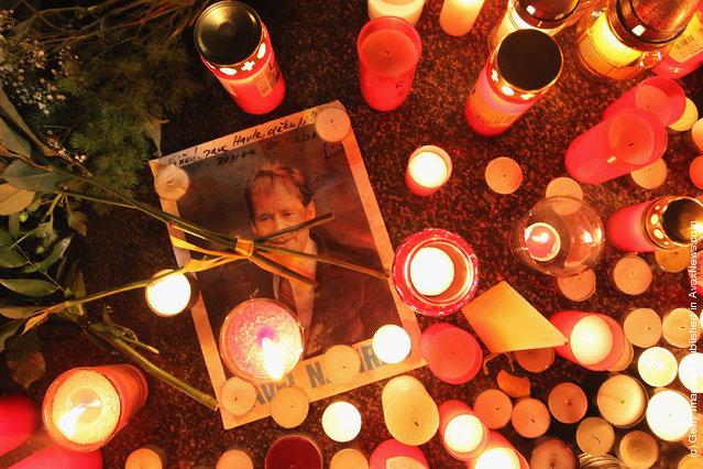 Czech Republic Mourns Death Of Vaclav Havel
