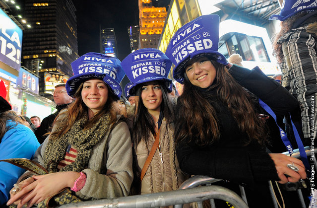 New York Celebrates New Year's Eve In Times Square