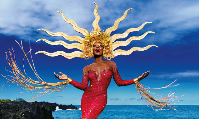 The Lavazza 2020 calendar shot in Hawaii. (Photo by David LaChapelle/The Guardian)