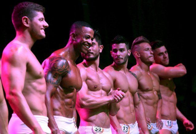 Competitors are seen during the 2015 Brazil Miss and Mister Fitness contest in Sao Paulo, Brazil, June 18, 2015. (Photo by Paulo Whitaker/Reuters)