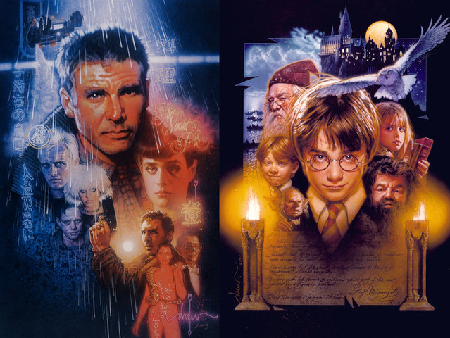 Also being honored at this year's Key Art Awards is illustrator Drew Struzan, who is being presented with the Saul Bass Award. Struzan has created the memorable and instantly-identifiable key art imagery for more than 200 movies. (Photo by Key Art Awards 2014)