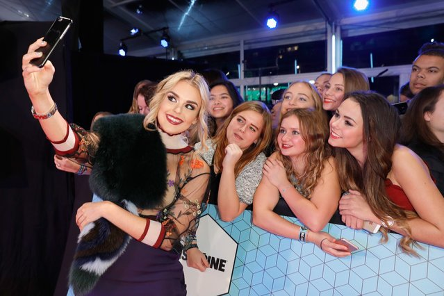 Tallia Storm attends the MTV Europe Music Awards 2016 on November 6, 2016 in Rotterdam, Netherlands. (Photo by Andreas Rentz/Getty Images for MTV)