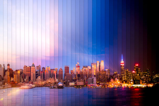 New York: 38 photographs, 2 hours, 3 minutes. (Photo by Daniel Marker-Moors/Caters News)