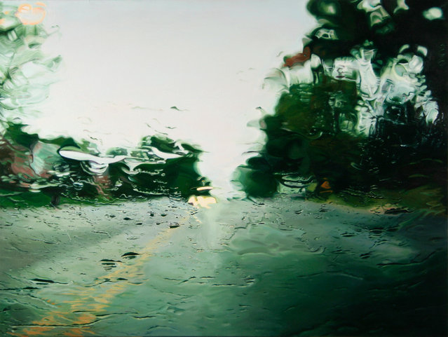 �Route 7�. (Painting by Gregory Thielker)