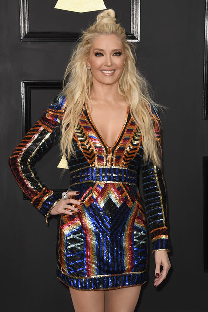 Singer Erika Jayne attends The 59th GRAMMY Awards at STAPLES Center on February 12, 2017 in Los Angeles, California. (Photo by Frazer Harrison/Getty Images)