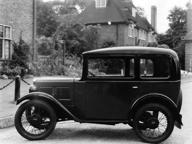 An Austin Seven motor car. 24th August 1931. (Photo by Sasha/Getty Images)