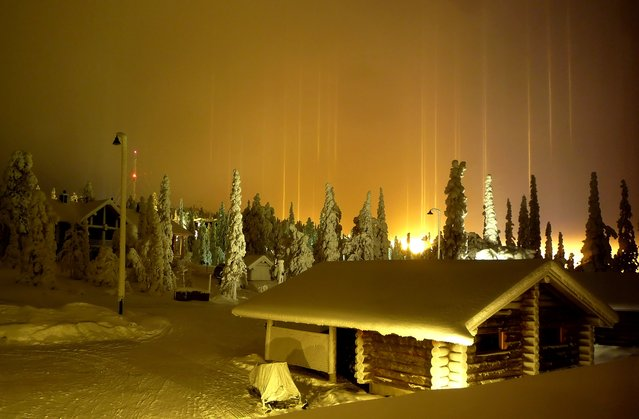 Mysterious Light Pillar
