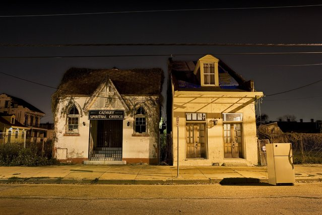 """Hampson"". St Philip and Treme, New Orleans, La. March 2007. (Photo by Frank Relle)"