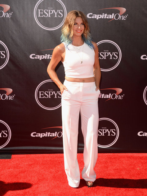 World Cup alpine ski racer Julia Mancuso attends The 2014 ESPYS at Nokia Theatre L.A. Live on July 16, 2014 in Los Angeles, California. (Photo by Jason Merritt/Getty Images)